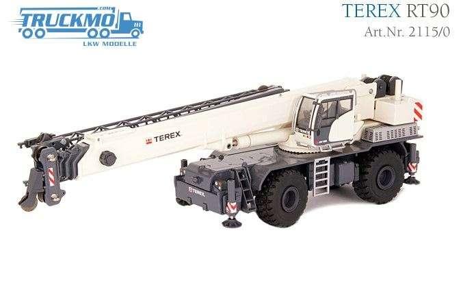 Conrad Terex RT 90 Rough Terrain Kran 2115/0