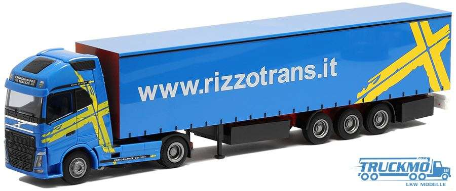 AWM Rizzo Trans Volvo FH12 Globetrotter XL Planenauflieger 75263