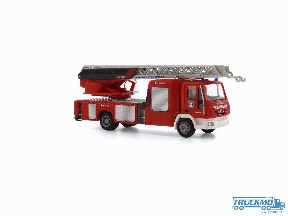 Rietze Feuerwehr Brandis Iveco DLK 32 Drehleiter 72605