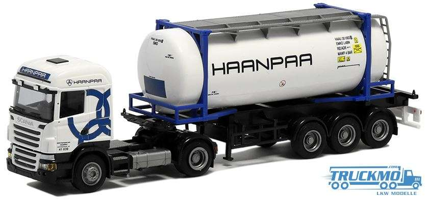AWM Haanpaa Scania R09 Highline 26ft Swapcontainer 53658