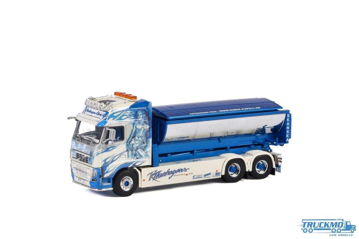WSI Thurhagens Äkeri AB Volvo FH3 Gl XXL 6x4 Hakenlift System + Asphalt Container 01-2641