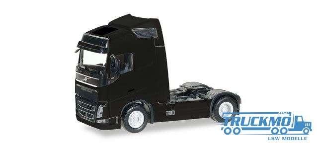 Herpa Volvo FH GL Globetrotter Zugmaschine schwarz 303767-004