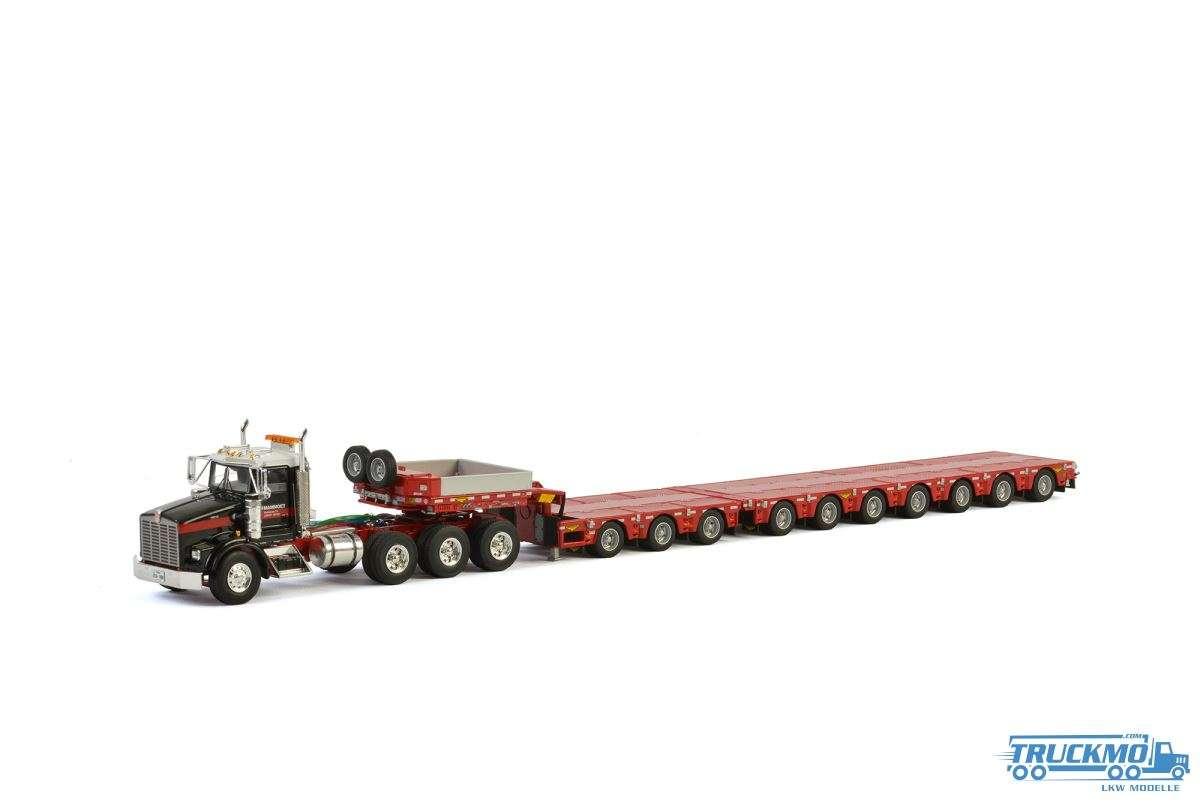 WSI Mammoet Kenworth T800 Tieflader 7 Achs mit Dolly 3 Achs 410232