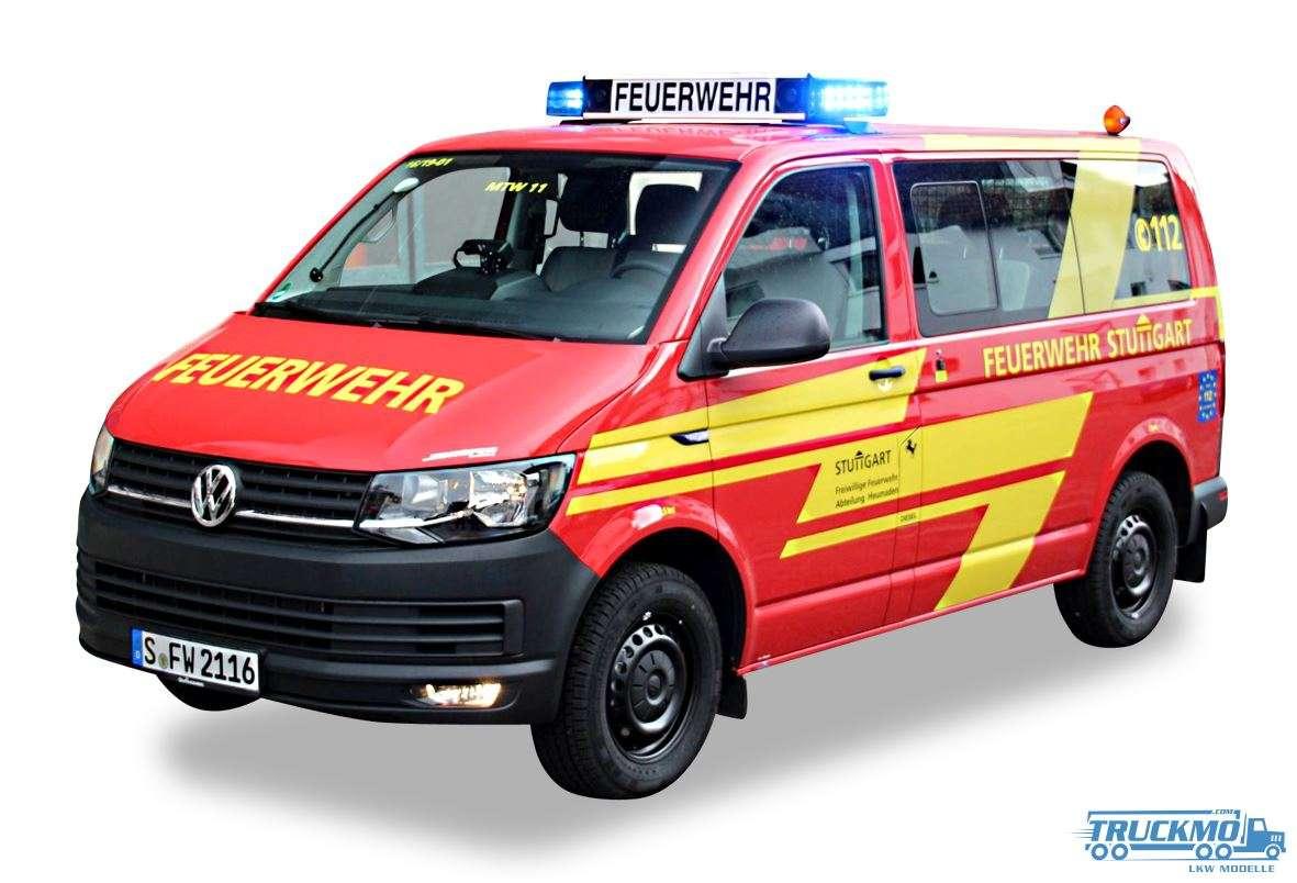 Herpa Feuerwehr Stuttgart VW T6 MTW 929295