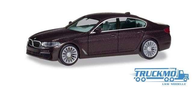 Herpa BMW 5er™ Limousine Jatoba metallic 430692