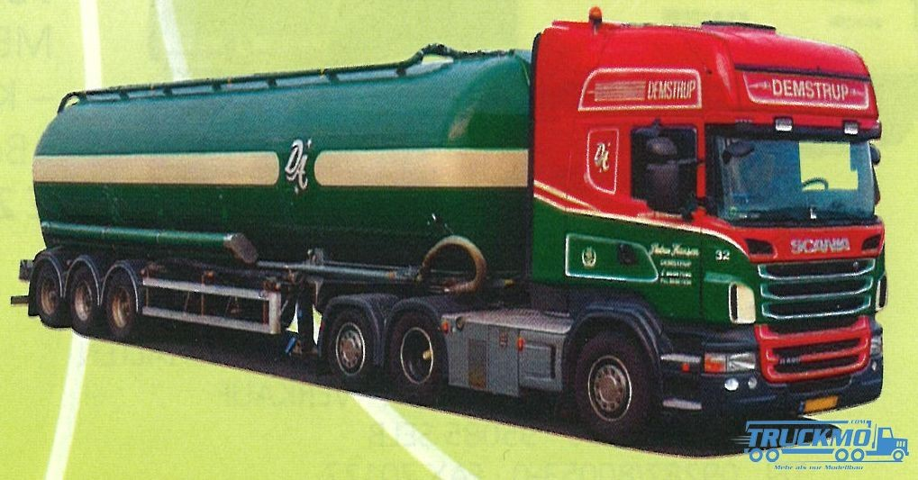 "AWM Demstrup LKW Scania ""09"" Topl./Aerop. - Kippsilo-SZ Modell"