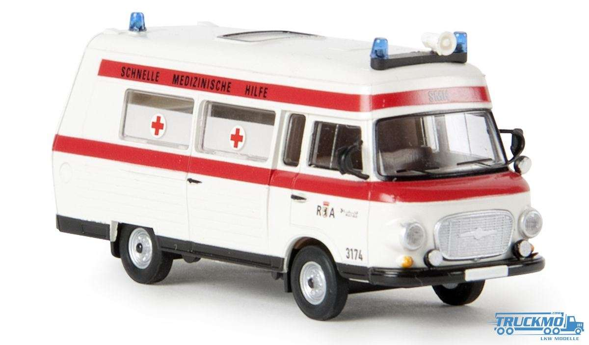 Brekina Rettungsamt Berlin Barkas B 1000 SMH 3 30403