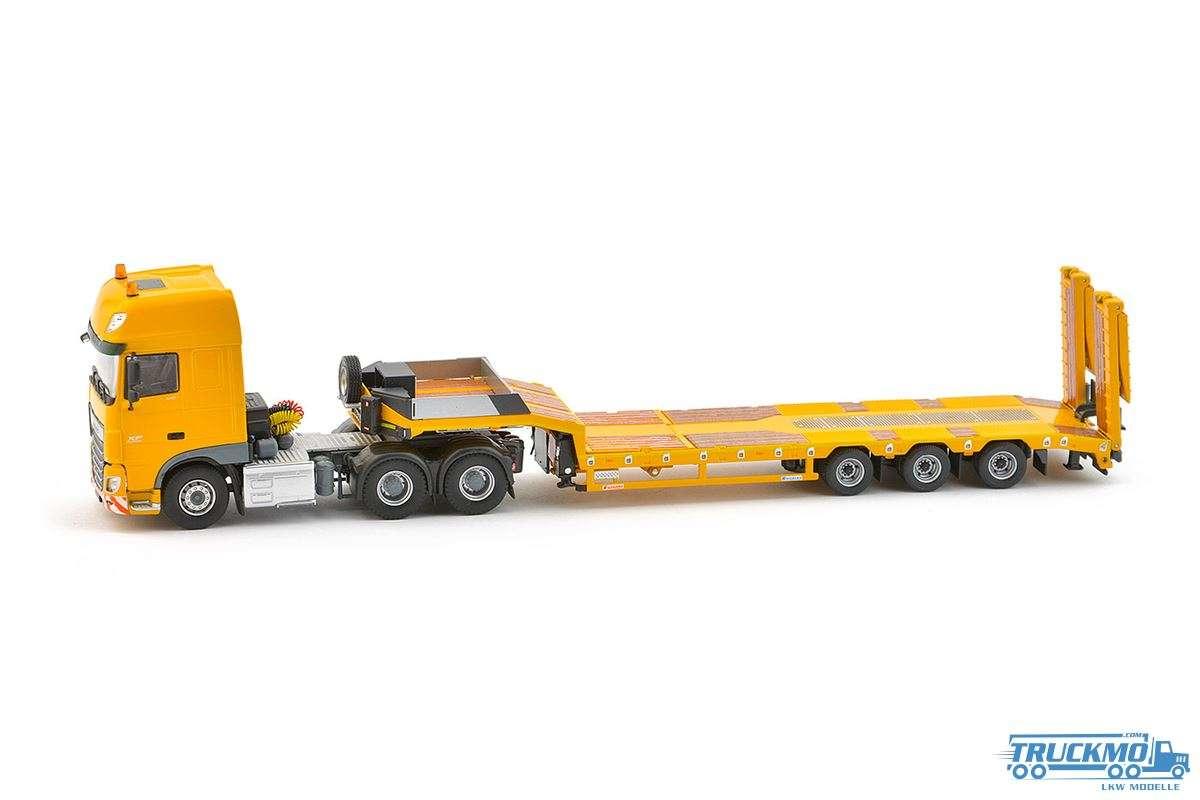 IMC Yellow Series DAF Euro 6 SCC 6x4 mit Euroflex 3 Achs Semi-Tieflader 33-0056