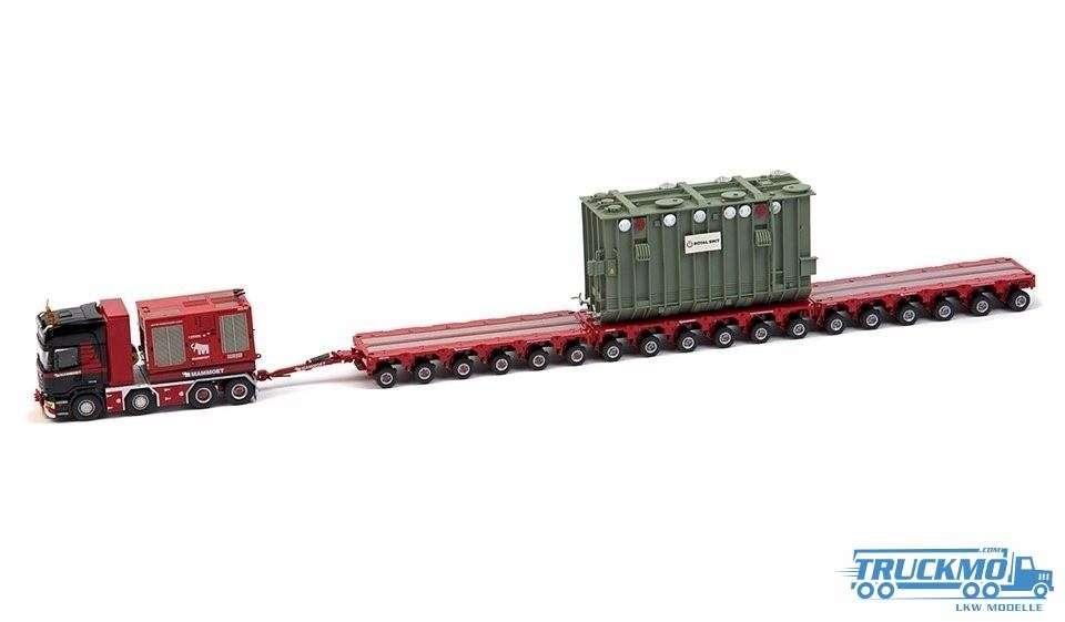 IMC Mammoet Scania R620 Scheuerle Tieflader + Trafo 410214
