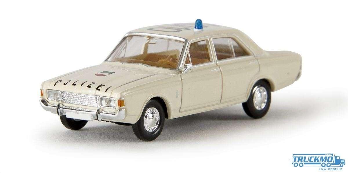 Brekina Polizei Ford 17m P7b 19403