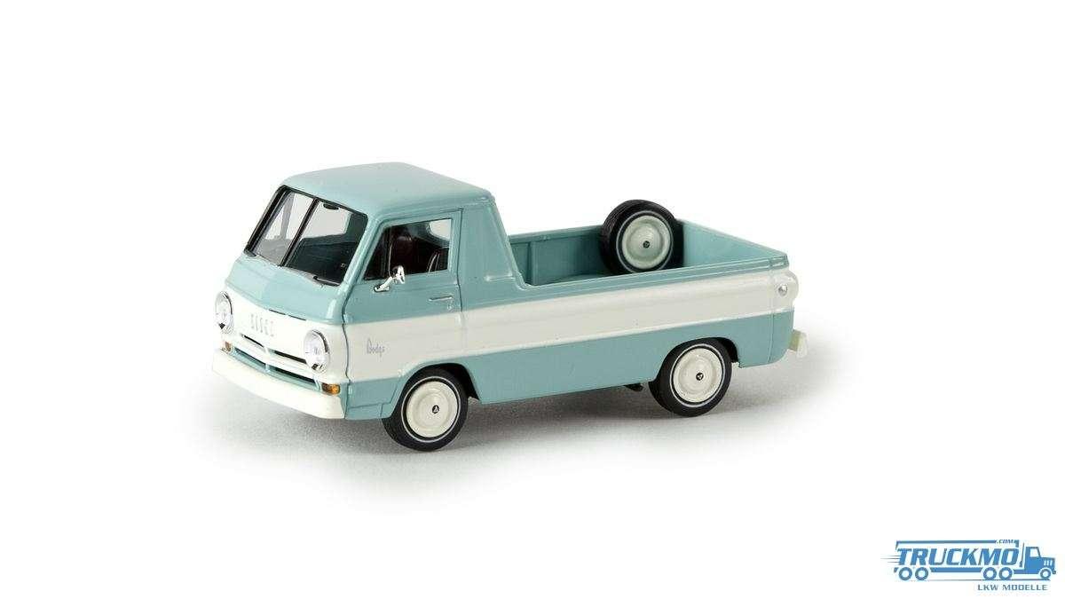 Brekina Dodge A 100 Pick-Up lichtgrün / weiß 34329