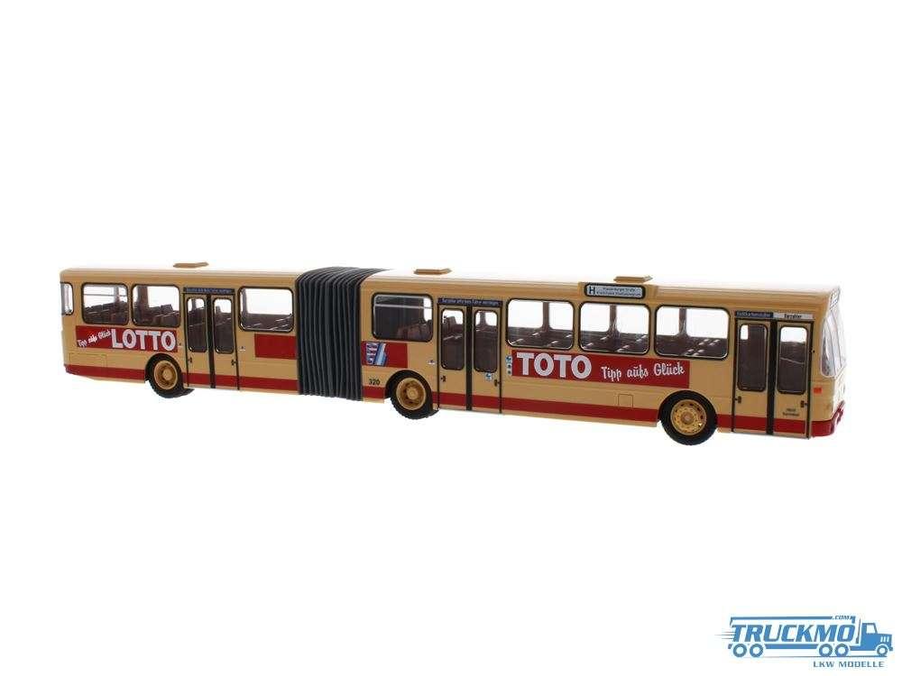Rietze Heag mobilo Darmstadt Lotto Toto Mercedes Benz O 305 G 74505