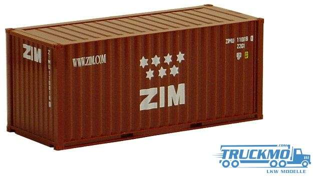 AWM ZIM 20ft. Container 491318