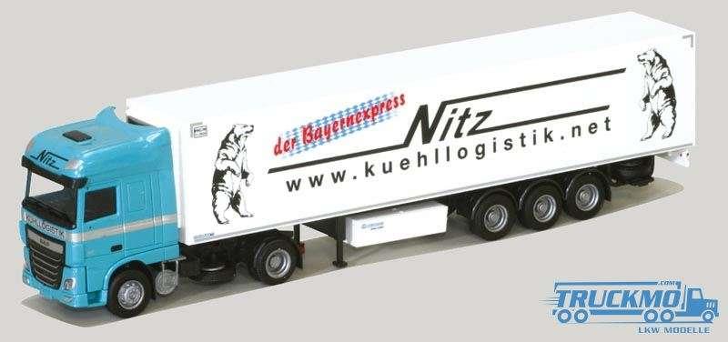 AWM Nitz DAF XF 106 Super Space Cab Kühlauflieger 75307