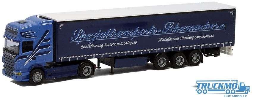 AWM Schumacher Scania R09 Topline Planenauflieger 74966
