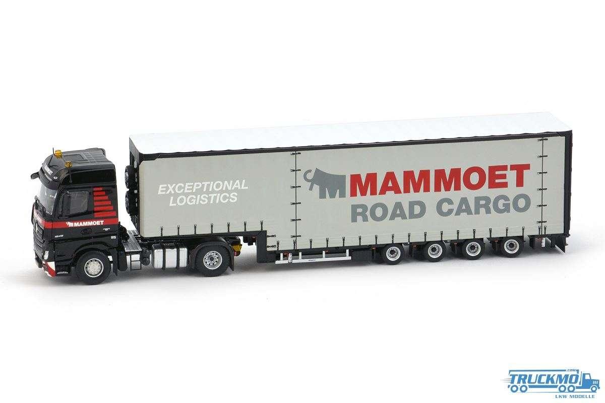 IMC Models Mammoet Mercedes Benz Actros MP4 Meusburger Tieflader 410228