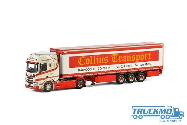 WSI Collins Transport Scania S Highline CR20H Planenauflieger 01-2295