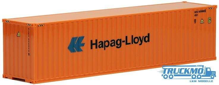 AWM Hapag-Lloyd 40ft. HighCube Container (orange) 491711