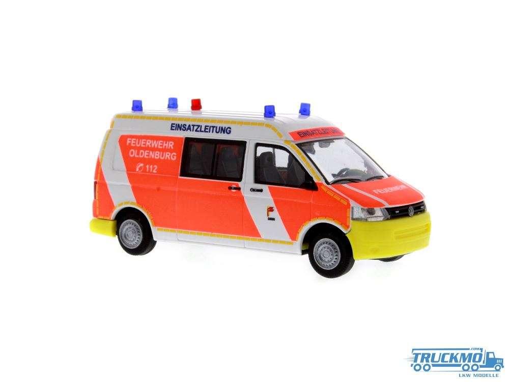 Rietze Feuerwehr Oldenburg Volkswagen T5 GP 53623