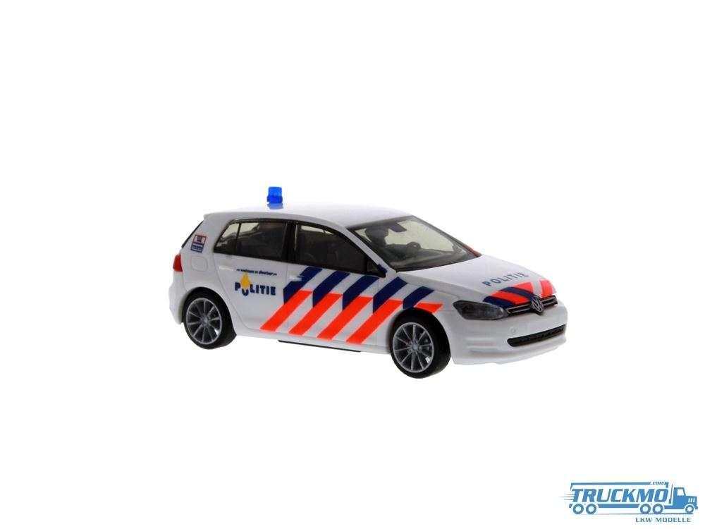 Rietze Politie Volkswagen Golf 7 53203