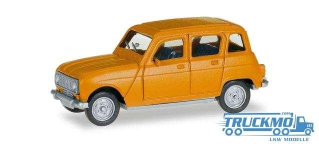 Herpa Renault R4 nazissengelb 020190-006