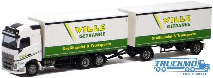 "AWM Wille Volvo ""12"" GL curtainside trailer combi"
