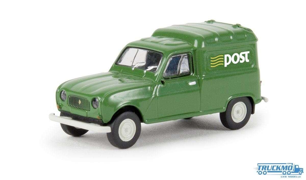 Brekina Post Renault R4 Fougonnette 14736