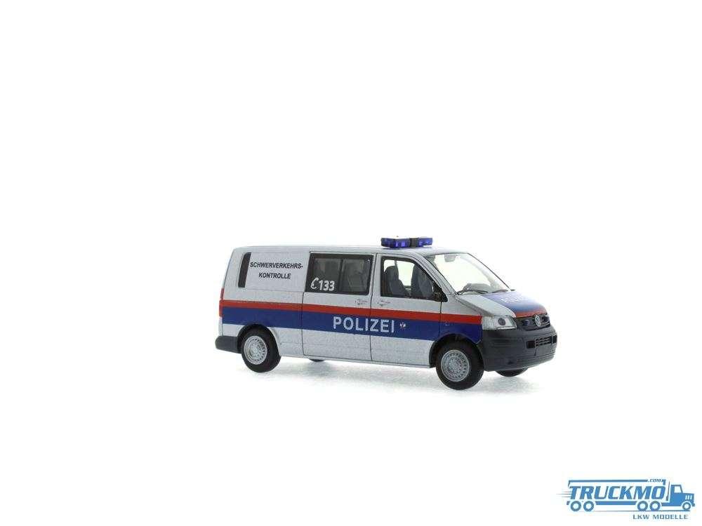 Rietze Modelle Polizei Schwerlastkontrolle Volkswagen T5 10 51874