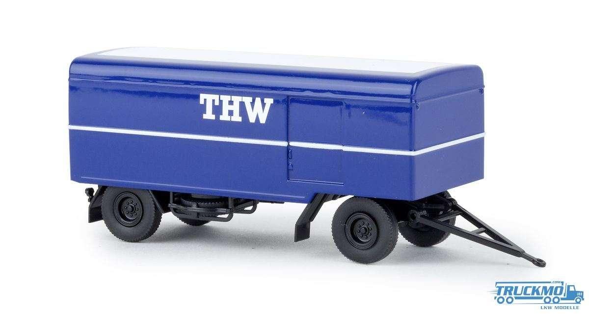 Brekina THW Paketanhänger 55290