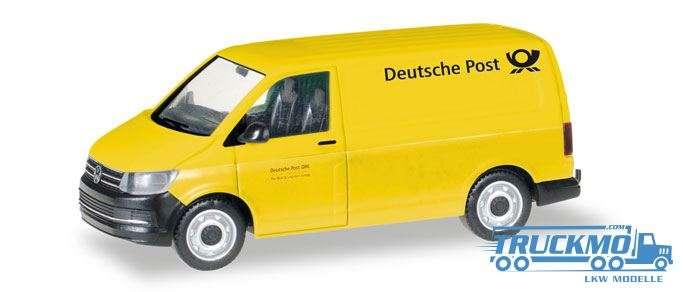 Herpa Deutsche Post VW T6 Kastenwagen 093026