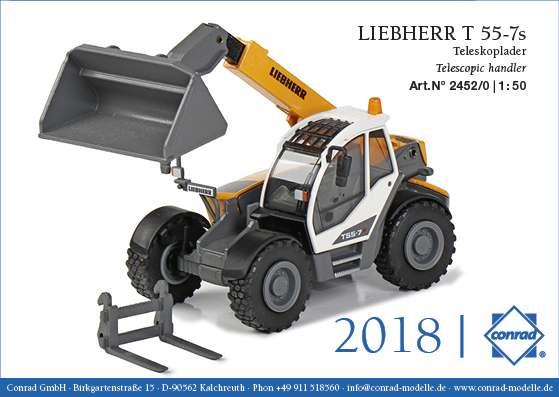 Conrad Liebherr T 55-7s Teleskoplader 2452/0