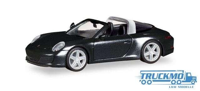 Herpa Porsche 911 Targa 4S schwarz 028905