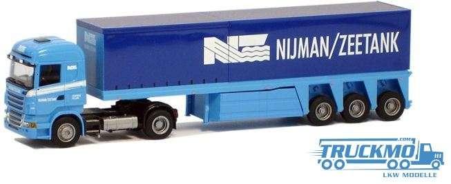AWM Nijman / Zeetank Scania R09 Highline Innenlader-Sattelzug 53746