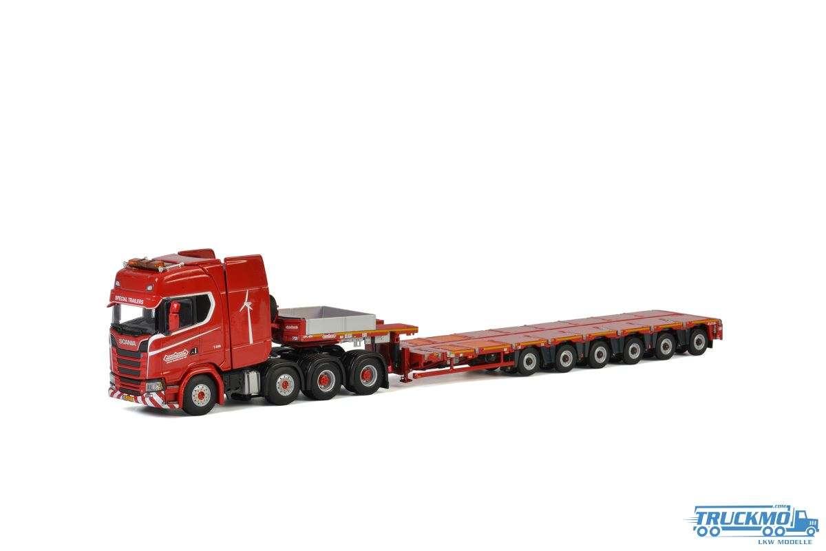 WSI KNT Red Line Scania S Highline CS20H MCO PX 6 Achs 5699943