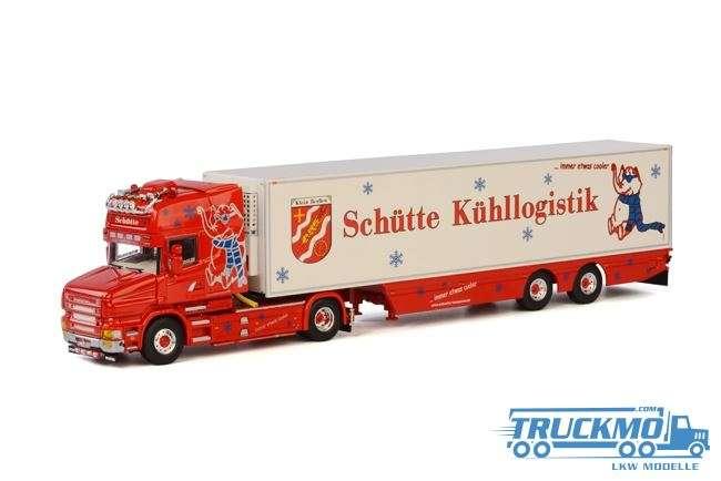 WSI Schütte Kühllogistik Scania T Topline Kühlauflieger Thermoking