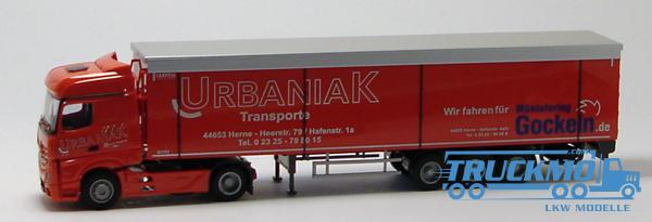 AWM Urbaniak LKW Mercedes Benz Actros2 Big. / Aerop.- Schubb.-SZ Modell