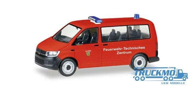 Herpa Feuerwehr Ilmkreis / Thüringen VW T6 Bus 093392