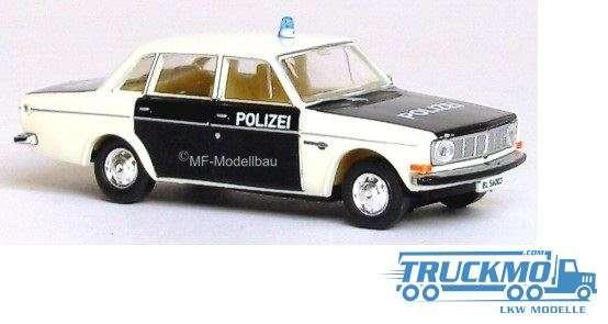 Brekina Polizei Baselland Volvo 144 29418