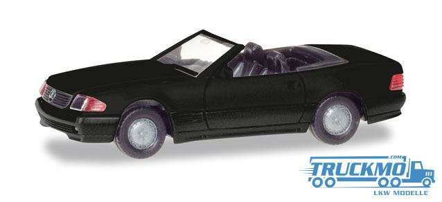 Herpa MiniKit: Mercedes-Benz 500 SL (R129) schwarz 013222