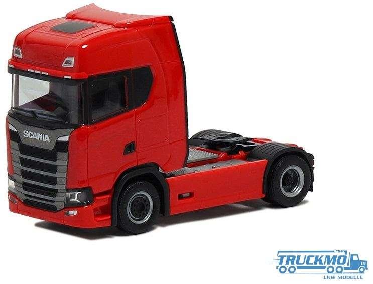 Herpa Scania CS HD 2-Achs rot 580448