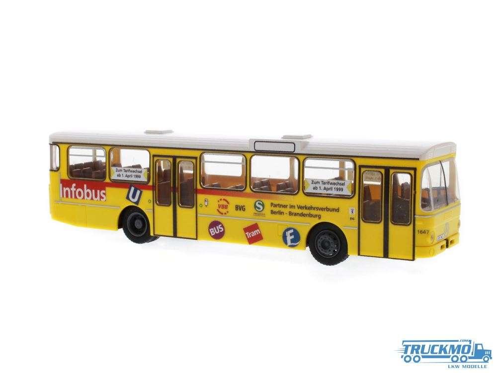 Rietze BVG Infobus Mercedes Benz O 305 74307
