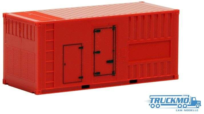 Herpa 20ft Generator-Container 491424