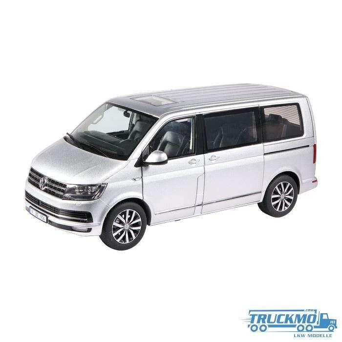 NZG Volkswagen T6 Multivan Highline silver 954/55
