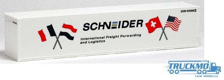 AWM Schneider 40ft. Container Glattwand 491507