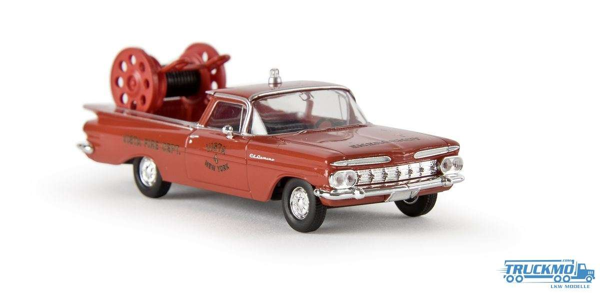Brekina Fire Rescue New York El Camino 19940