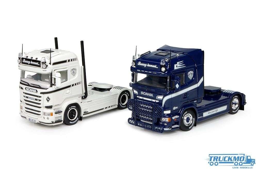 Tekno Bessey Scania Set Scania R Streamline 72682