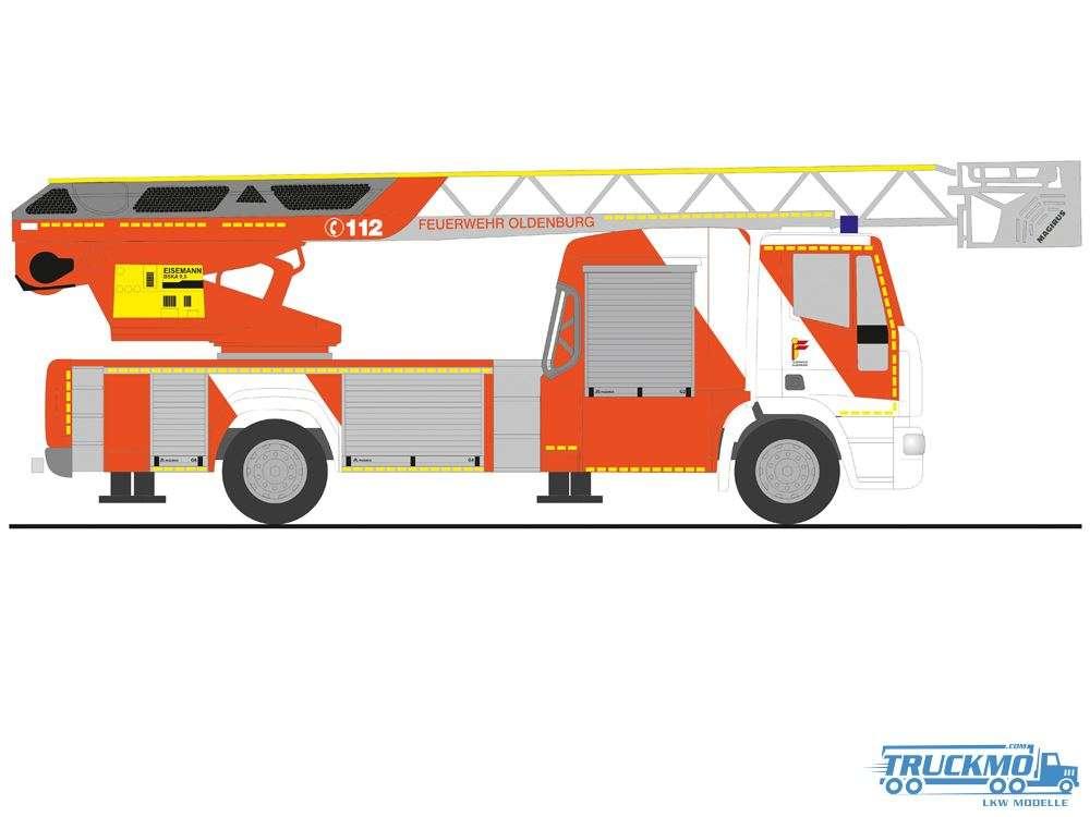 Rietze Feuerwehr Oldenburg Magirus DLK 32 E6 72606
