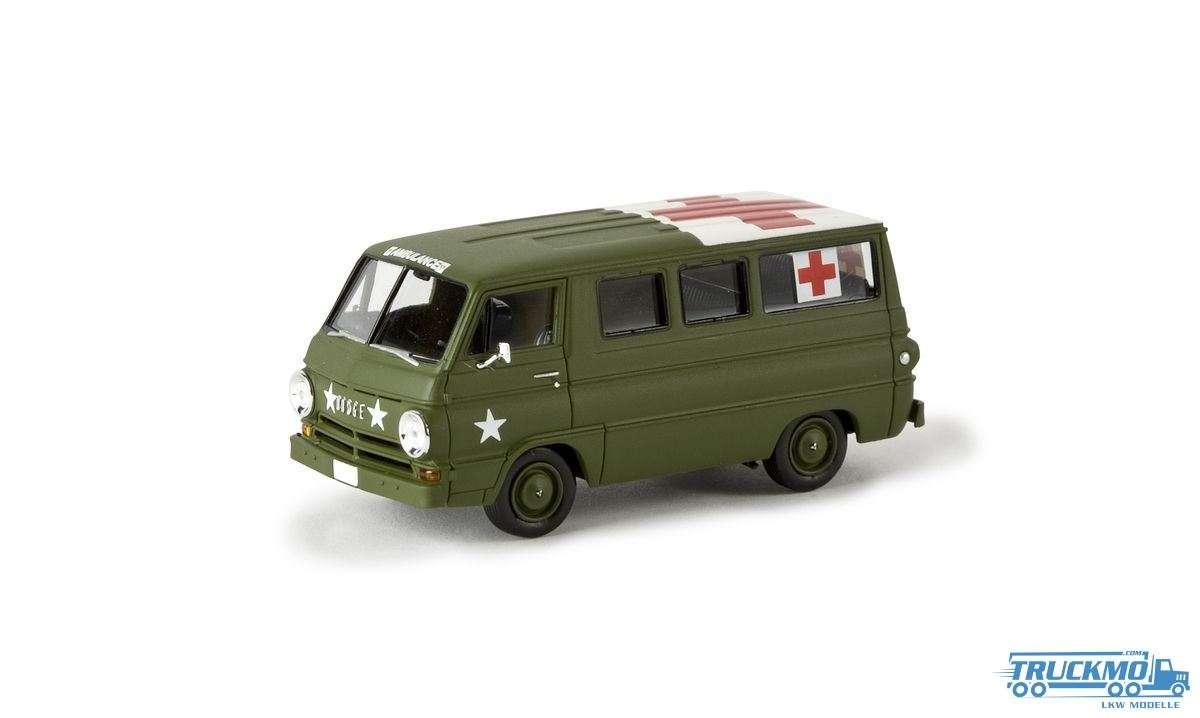 Brekina US Army / Ambulance Dodge A 100 Bus 34311