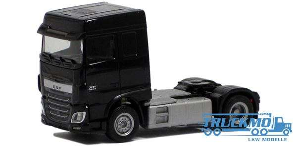 Herpa DAF XF Euro 6 SC schwarz 610364
