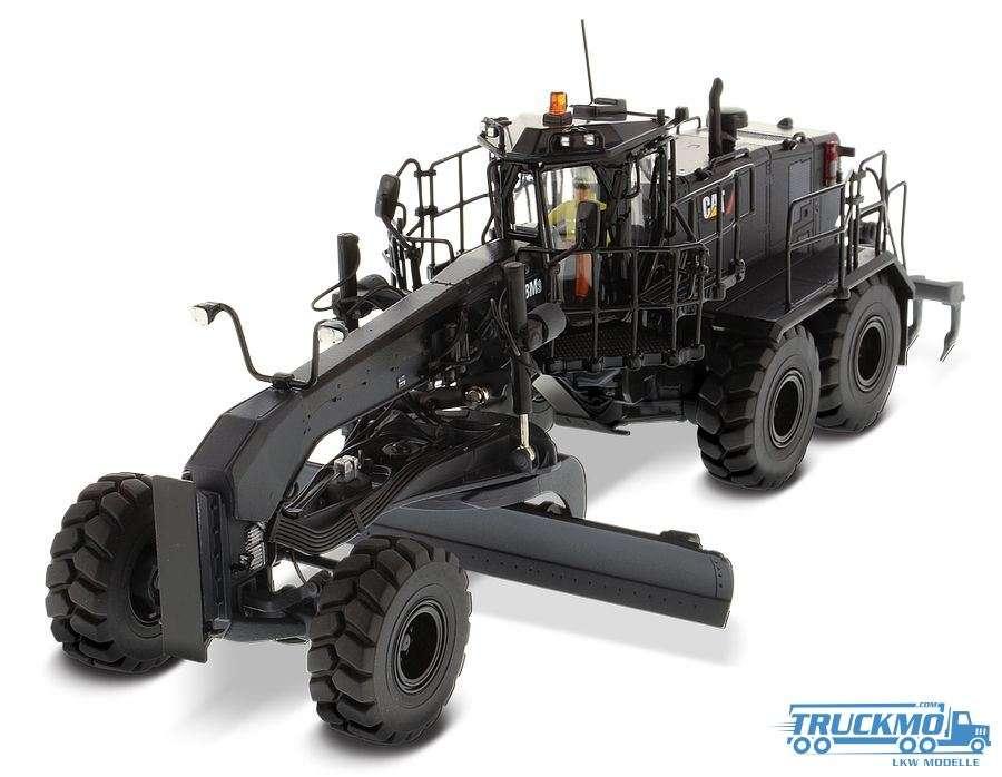 Diecast Masters CAT 18M3 Motor Grader Special Black Finish 85522